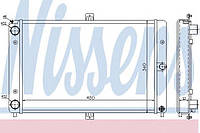 Радиатор охлаждения ВАЗ 2108 2109 (производство Nissens ), код запчасти: 62351