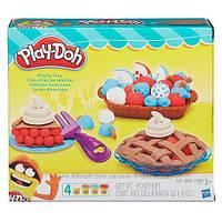Плей-Дох Игровой набор пластилина Ягодные тарталетки Play-Doh B3398