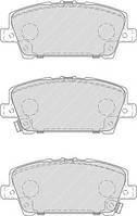 Колодки гальмівні дискові (производство Ferodo ), код запчасти: FDB1859