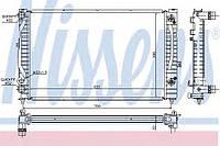 Радиатор охлаждения Audi, VW (производство Nissens ), код запчасти: 60229