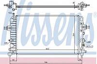 Радиатор охлаждения Opel (производство Nissens ), код запчасти: 63028A