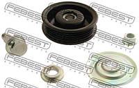 Ролик натяжной ремня кондиционера (производство Febest ), код запчасти: 0187HDJ100