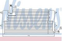 Конденсатор кондиционера VW (производство Nissens ), код запчасти: 94179