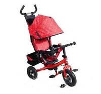 Велосипед трехколесный детский Lexus Super Trike VT1408 Красный надувные колеса