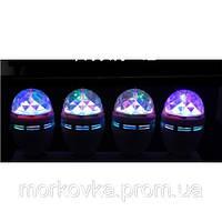 Диско лампа вращающаяся LED lamp для вечеринок 399 купить