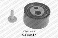 Натяжной ролик, ремень ГРМ Citroen 0829-62 (производство NTN-SNR ), код запчасти: GT359.17