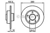 Диск тормозной Nissan, Opel, Renault, задн. (производство Bosch ), код запчасти: 0986479144