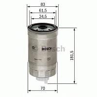 Фильтр топливный дизель Audi 80,100,A4,A6, VW Passat 1.9TDi,2.5TDi -00 (производство Bosch ), код запчасти: 1457434184
