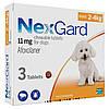 Merial NexGard- жевательная таблетка для защиты собак S (2-4кг) 3таблетки