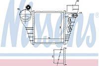 Конденсатор кондиционера Audi, Seat, VW (производство Nissens ), код запчасти: 96847