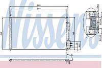 Конденсатор кондиционера Ford (производство Nissens ), код запчасти: 94432