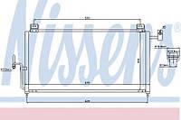 Конденсатор кондиционера Mazda (производство Nissens ), код запчасти: 94720