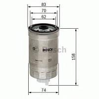 Фильтр топливный Skoda Superb, VW Passat 1.9TDI (производство Bosch ), код запчасти: 1457434329
