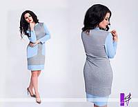 Батальное платье с большими карманами