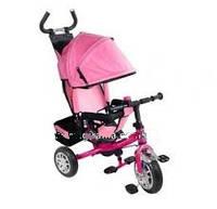 Велосипед трехколесный детский Lexus Super Trike VT1420 Розовый пенные колеса