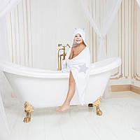 Махровое полотенце с ушками для мальчика Даниэль от Guddini 65х135
