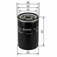 Фильтр масляный Nissan (производство Bosch ), код запчасти: 0986452060