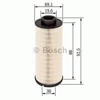 Фильтр топливный дизель Mitsubishi, Nissan, Opel (производство Bosch ), код запчасти: 1457431705