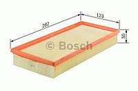 Повітряний фільтр 3316 fiat panda,punto 03- (производство Bosch ), код запчасти: 1457433316