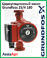 Насос Grundfoss 25/4 180 (гайки + шнур)