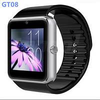 Умные часы (Smart watch) GT08. Недорогие смарт часы с камерой