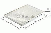 Фильтр салона (угольный) (производство Bosch ), код запчасти: 1987432402