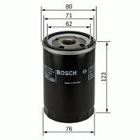 Фильтр масляный Audi, Skoda, VW (производство Bosch ), код запчасти: 0451103033