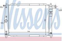 Радиатор водяного охлаждения Daewoo Lanos (без кондиционера) (производство Nissens ), код запчасти: 61644