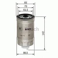 Паливний фільтр 4510 hyundai/kia accent,getz,sonata 1,5-2,5 02- (производство Bosch ), код запчасти: 1457434510