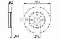 Диск тормозной ВАЗ 2108 передний (производство Bosch ), код запчасти: 0986479905