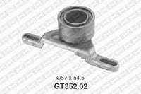 Натяжной ролик, ремень ГРМ Ford 6182891 (производство NTN-SNR ), код запчасти: GT352.02
