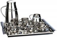 Кофейный набор BERGHOFF Straight 1107097 (17 предметов)