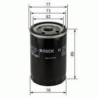 Фильтр масляный Lanos, AVEO, LACETTI, Nubira, NEXIA (производство Bosch ), код запчасти: 0451103079