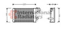 Радиатор отопителя VW POLO / TRANSP ALL 80-94 (Van Wezel) (производство VAN WEZEL ), код запчасти: 58006062