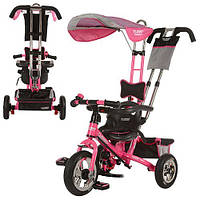 Велосипед детский трехколесный, колеса надувные, Турбо Трайк М 5378, Turbo Trike цвета в ассортименте