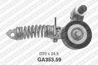 Натяжной ролик, поликлиновой ремень Opel 1340267 (производство NTN-SNR ), код запчасти: GA353.59