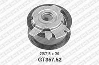 Натяжной ролик, ремень ГРМ Audi 03G109243 (производство NTN-SNR ), код запчасти: GT357.52
