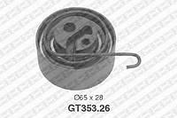 Натяжной ролик, ремень ГРМ Opel 5636739 (производство NTN-SNR ), код запчасти: GT353.26