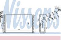 Радиатор печки Audi (производство Nissens ), код запчасти: 70224