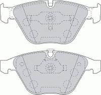 Колодки гальмівні дискові (производство Ferodo ), код запчасти: FDB1628