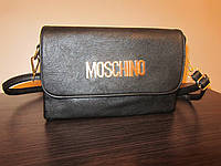 Модный клатч из эко кожи moschino