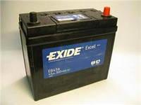 Аккумулятор 45Ah-12v Exide EXCELL(234х127х220),R,EN300( тонкие клеммы ) (производство EXIDE ), код запчасти: EB456