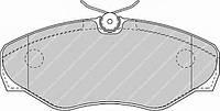 Колодки гальмівні дискові (производство Ferodo ), код запчасти: FVR1515