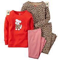 """Пижама детская для девочки Картерс """"Собачка"""", Carter's США (2Т,3Т,4Т,5Т):"""