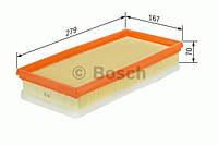 Повітряний фільтр вставка peugeot 3008/307/308/5008 ''2.0 hdi (производство Bosch ), код запчасти: F026400150