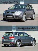 Аэродинамический комплект Caractere VW Touareg (2003-2007)Комплект обвеса бельгийской компании Caractere для моделей VW Touareg 2003-2007 годов
