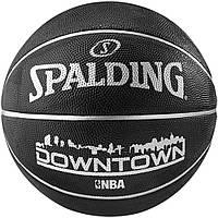Мяч баскетбольный резиновый №7 SPALDING DOWNTOWN