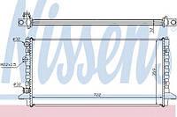 Радиатор охлаждения VW (производство Nissens ), код запчасти: 65256