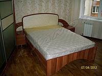 Кровать с ортопедическим матрасом под заказ
