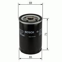 Масляний фільтр 7001 infiniti fx35, kia picanto, nissan tiida, reanault laguna, subaru (производство Bosch ), код запчасти: F026407001